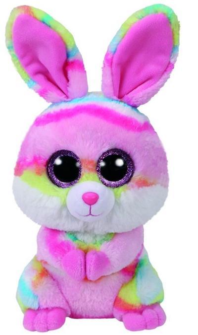 Lollipop, Hase pink/farbig 24cm