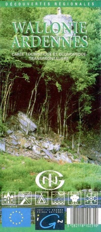 Wallonie / Ardennen  1 : 100 000