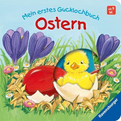 Mein erstes Gucklochbuch - Ostern   ; Ill. v. Flad, Antje; Deutsch; durchg. farb. Ill., mit Gucklöchern -