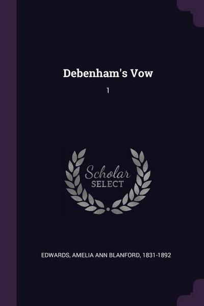 Debenham's Vow: 1