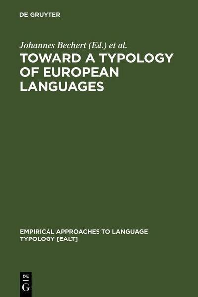 Toward a Typology of European Languages