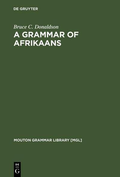 A Grammar of Afrikaans