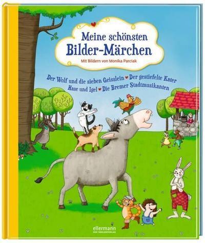 Meine schönsten Bilder-Märchen: Die schönsten Tiermärchen; Ill. v. Parciak, Monika; Deutsch