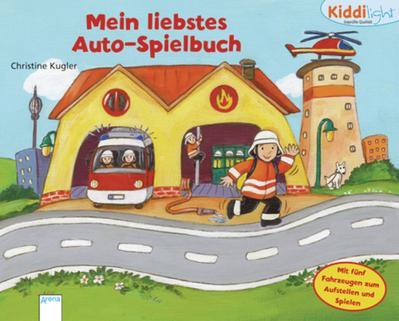 Mein liebstes Auto-Spielbuch: Kiddilight: