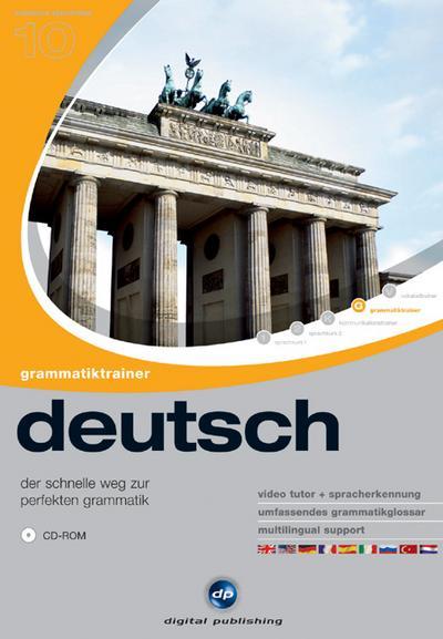 Interaktive Sprachreise V10: Grammatiktrainer Deutsch
