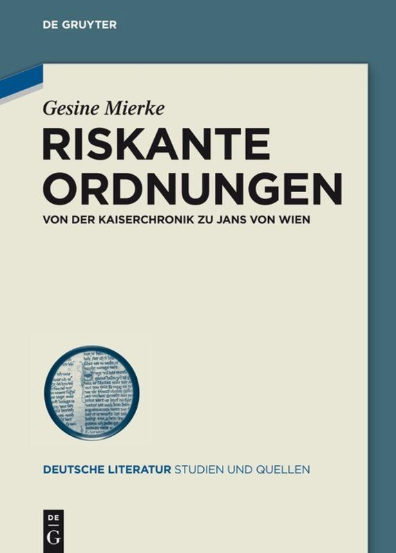 Riskante Ordnungen   Gesine Mierke    9783050064659