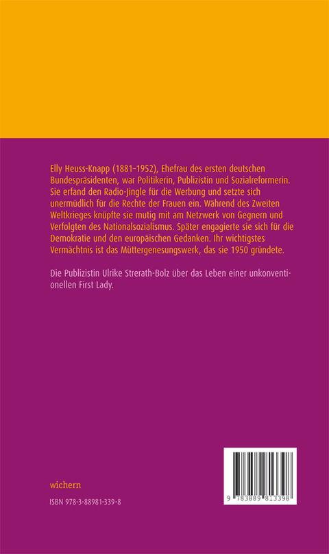 Elly Heuss-Knapp Ulrike Strerath-Bolz