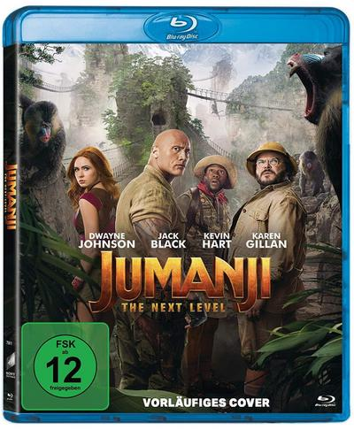 Jumanji : The Next Level, 1 Blu-ray