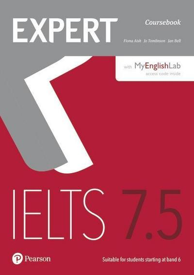 Expert IELTS 7.5 Coursebook with Online Audio and MyEnglishLab Pin Pack