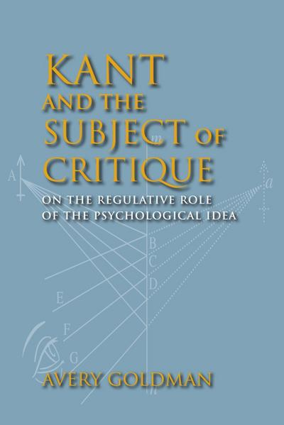 Kant and the Subject of Critique