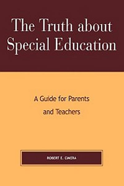 The Truth About Special Education