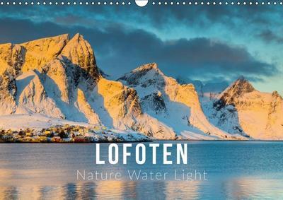 Lofoten. Nature Water Light (Wall Calendar 2019 DIN A3 Landscape)