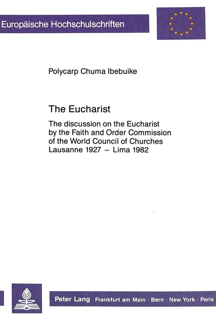 The Eucharist Polycarp Chuma Ibebuike