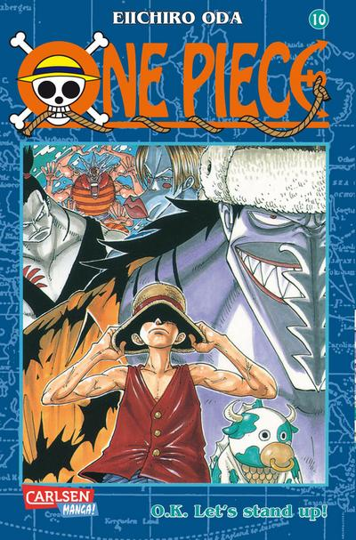One Piece 10. O.K. Let's stand up!