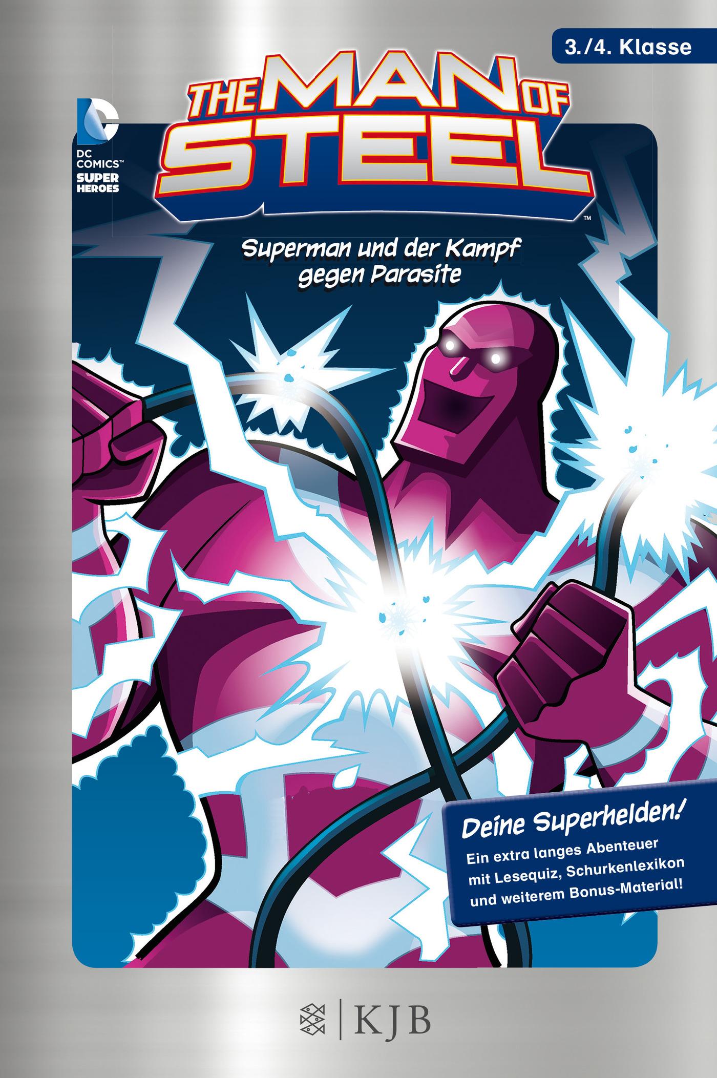 The Man of Steel 04: Superman und der Kampf gegen Parasite, Scott Peterson