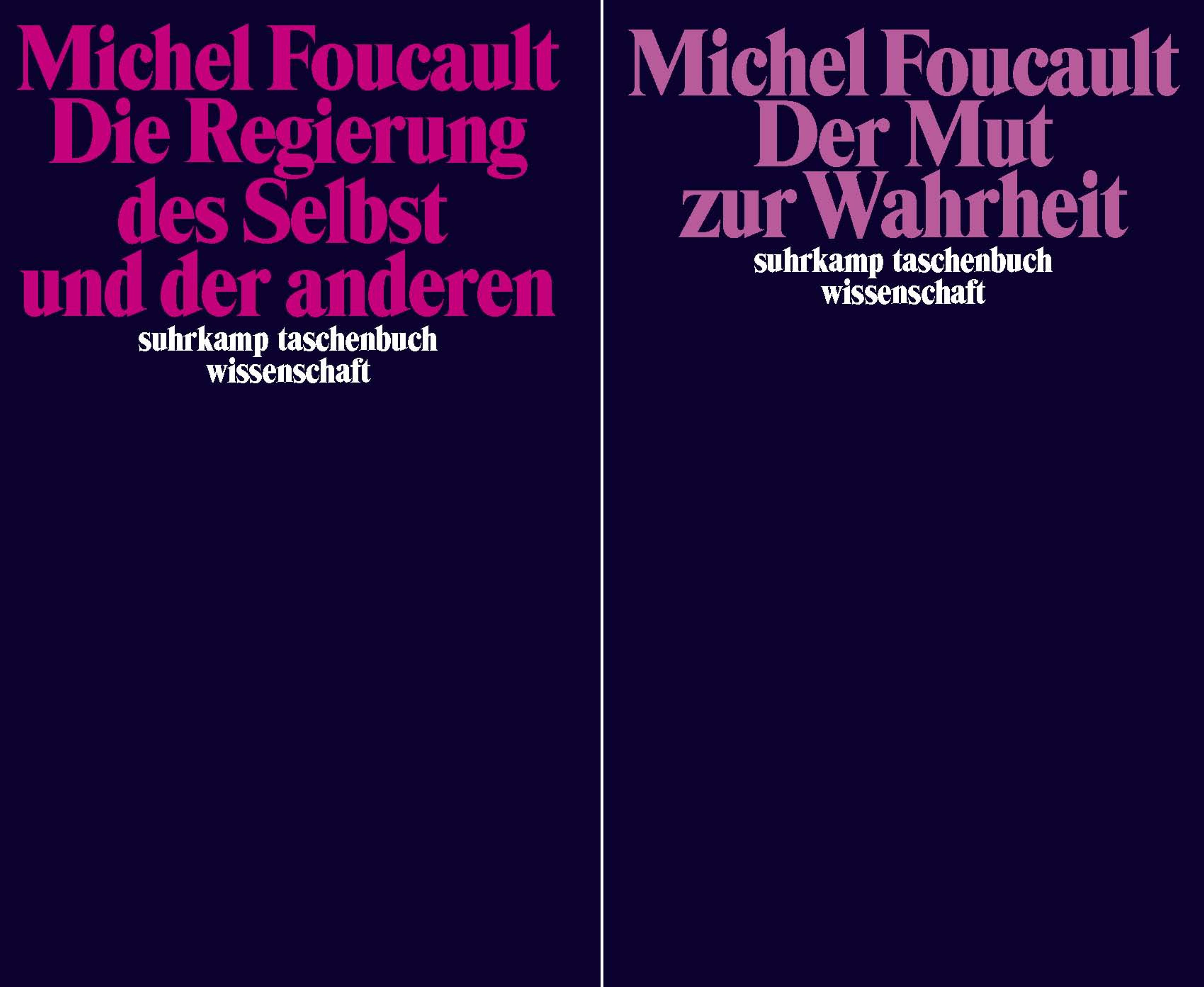 Die Regierung des Selbst und der anderen, Michel Foucault