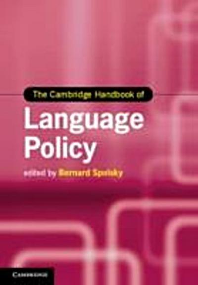 Cambridge Handbook of Language Policy