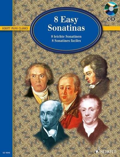 8 leichte Sonatinen
