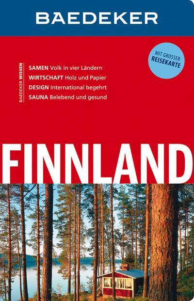 Baedeker Reiseführer Finnland: mit GROSSER REISEKARTE