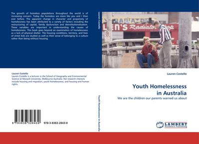 Youth Homelessness in Australia