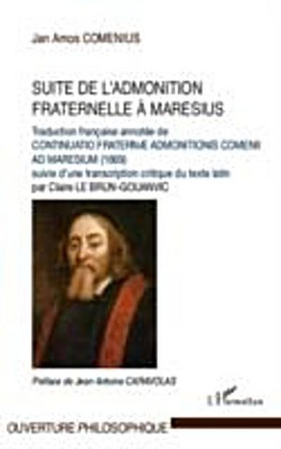 Suite de l'admonition fraternelle A maresius - traduction fr