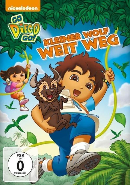 Go Diego Go!: Kleiner Wolf weit weg,
