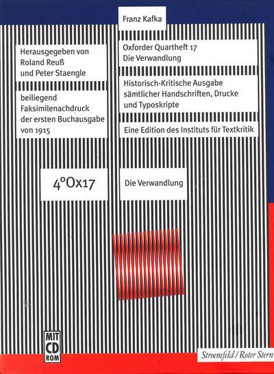 Oxforder Quartheft 17: Die Verwandlung, 2 Hefte m. CD-ROM. Bd.17