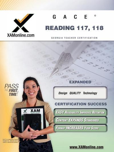 Gace Reading 117, 118 Teacher Certification Test Prep Study Guide