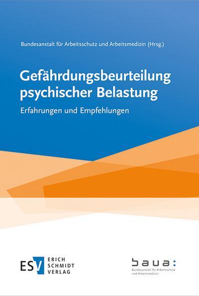 Gefährdungsbeurteilung psychischer Belastung