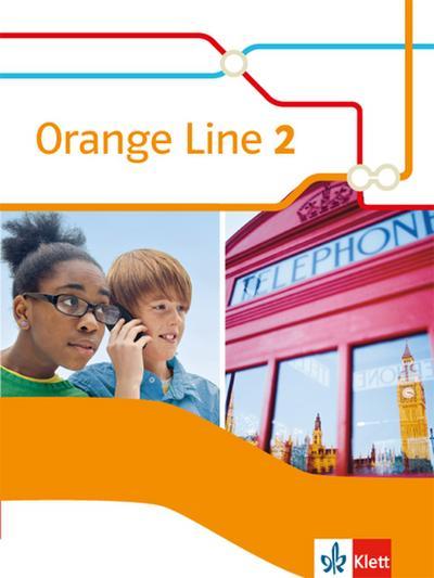 Orange Line 2. Schülerbuch (fester Einband)