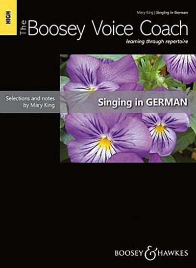 The Boosey Voice Coach, Singing in German, Medium/low voice and piano