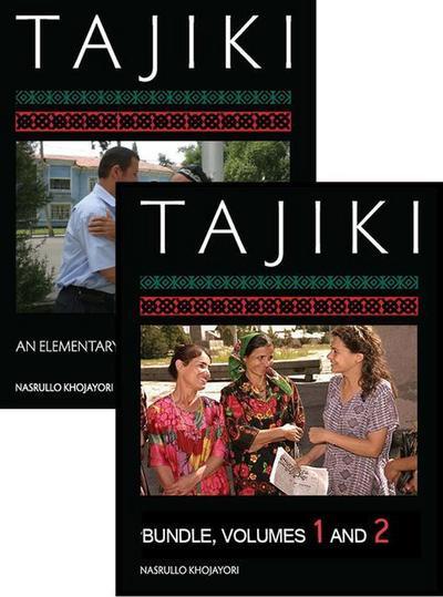 Tajiki: An Elementary Textbook, One-Year Course Bundle