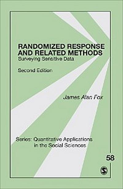 Randomized Response and Related Methods