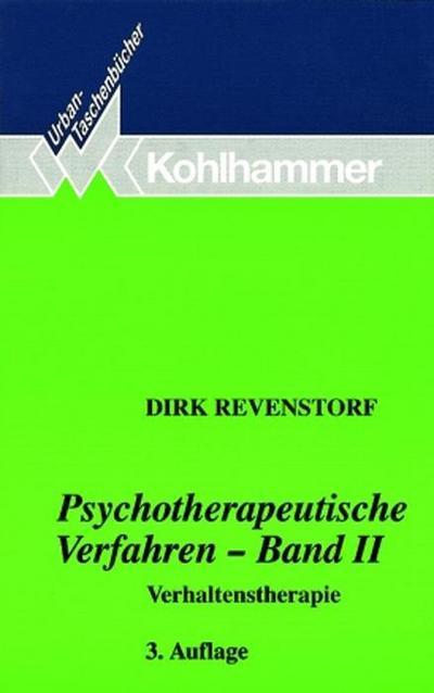 Psychotherapeutische Verfahren. Bd.2