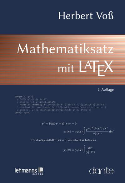 Mathematiksatz mit LaTeX