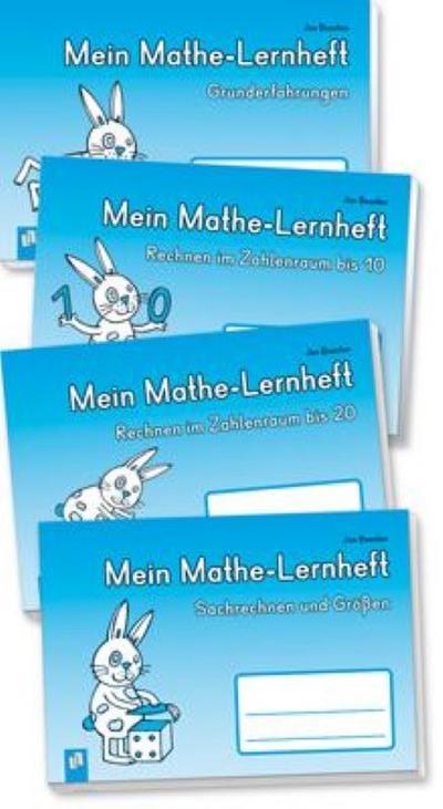 PAKET Mathe 1 (4 Mathe-Lernhefte)