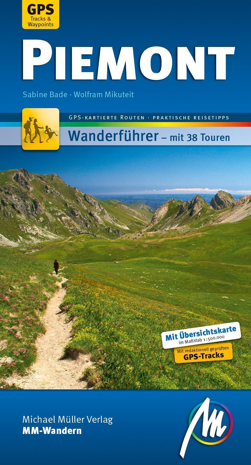 Piemont MM-Wandern - Sabine Bade -  9783956545085
