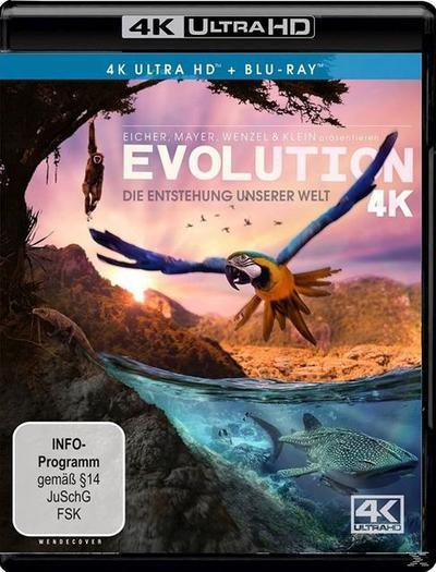 Evolution - Die Entstehung unserer Welt 4K, 1 UHD-Blu-ray + 1 Blu-ray
