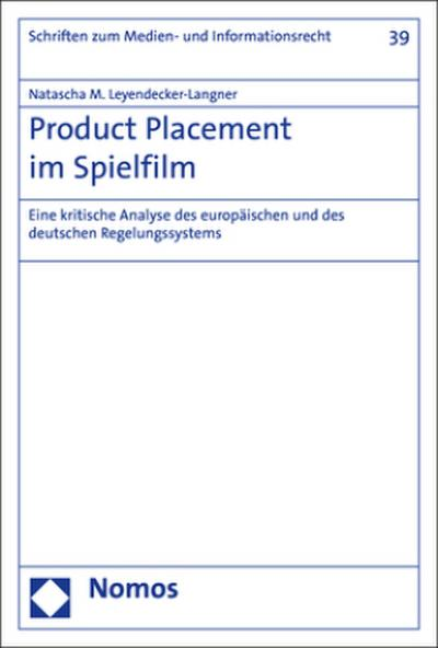 Product Placement im Spielfilm