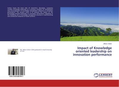 Impact of Knowledge oriented leadership on innovation performance