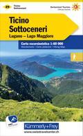 KuF Schweiz Wanderkarte 29 Tessin Süd - Sottoceneri 1 : 60 000