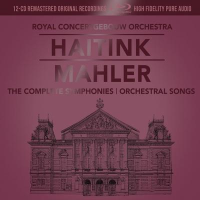 Haitink: Mahler - 10 Sinfonien, Orchesterlieder (Blue-Ray Audio)