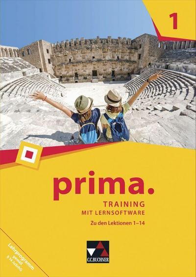prima. / prima. Training mit Lernsoftware 1: Latein lernen / Zu den Lektionen 1-14 (prima.: Latein lernen)