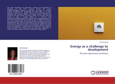 Energy as a challenge to development