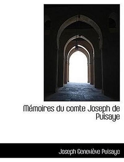 Mémoires du comte Joseph de Puisaye