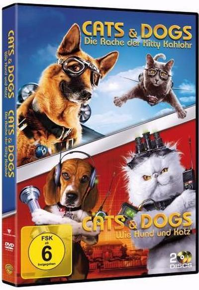 Cats & Dogs: Wie Hund und Katz' / Cats & Dogs: Die Rache der Kitty Kahlohr DVD-Box
