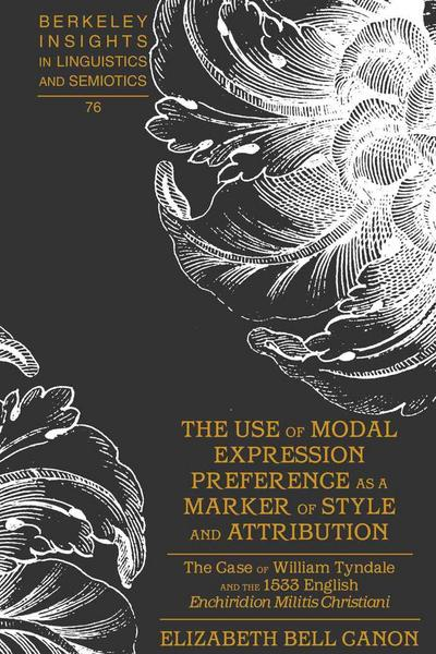 The Use of Modal Expression Preference as a Marker of Style and Attribution