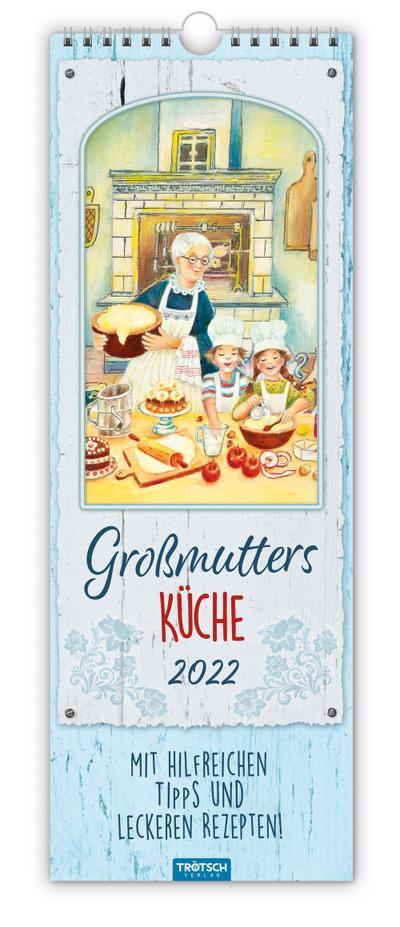 """Maxi-Streifenkalender """"Großmutters Küche"""" 2022"""