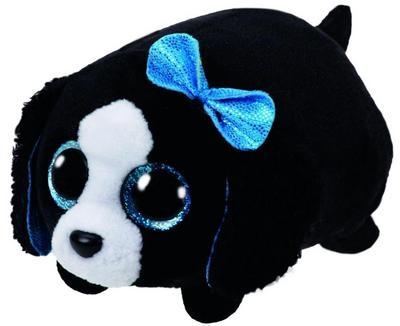 Marci, Hund schwarz/weiss 10cm