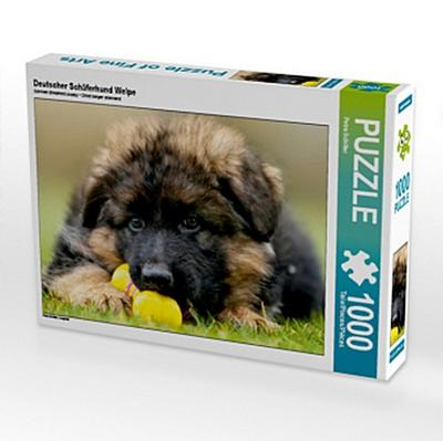Deutscher Schäferhund Welpe (Puzzle)